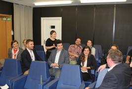 Winkler Gyula meets students in Strasbourg