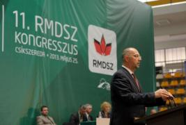 The 11th Congress of RMDSZ, Miercurea Ciuc, 26 May 2013